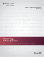 Report of the Veterans Ombudsman - Veterans' Right to Fair Adjudication