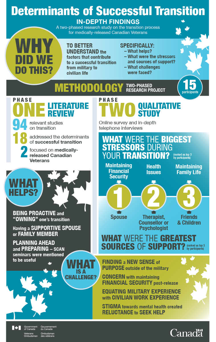 Transitioning Successfully: A Qualitative Study – Infographic